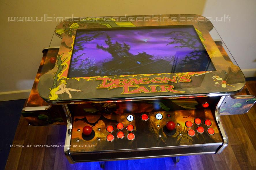 Dragons lair Arcade Machine