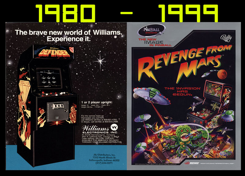williams electronics video and pinball history